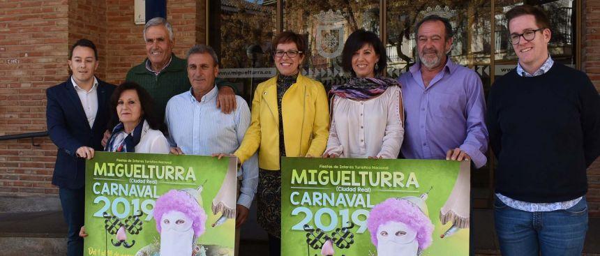 5c296fec9a Todo está preparado de nuevo para el comienzo de la fiesta más esperada por  los miguelturreños y miguelturreñas, los Carnavales de Miguelturra 2019, ...