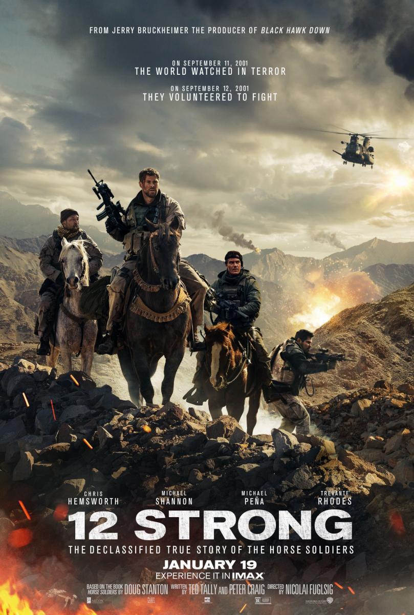 cartel de la película 12 valientes