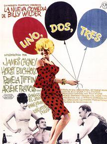 cartel de la película Uno, dos, tres