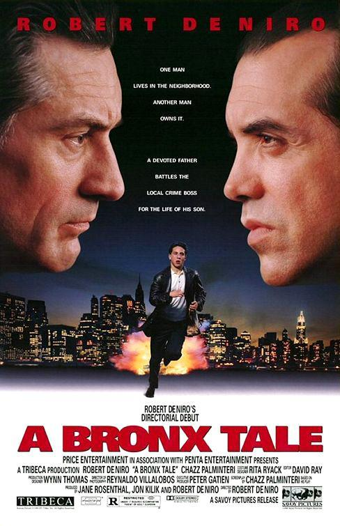 cartel de la película Una historia del Bronx