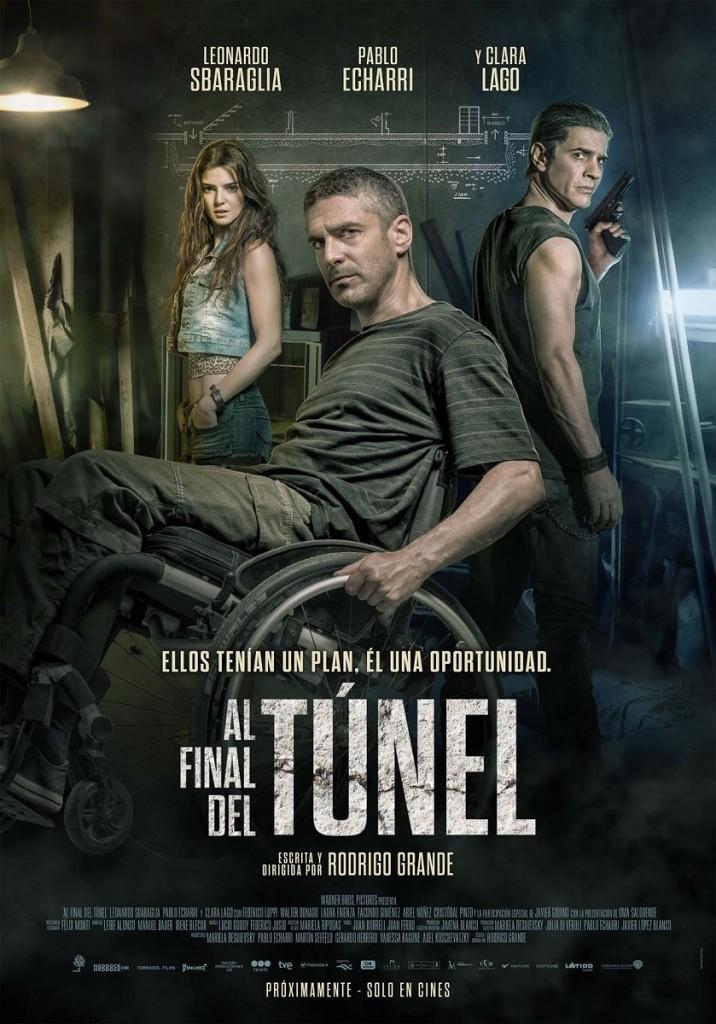 cartel de la película Al final del túnel