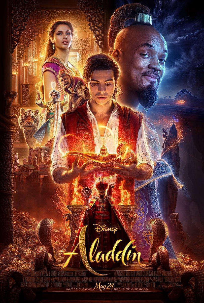 cartel de la película Aladdin