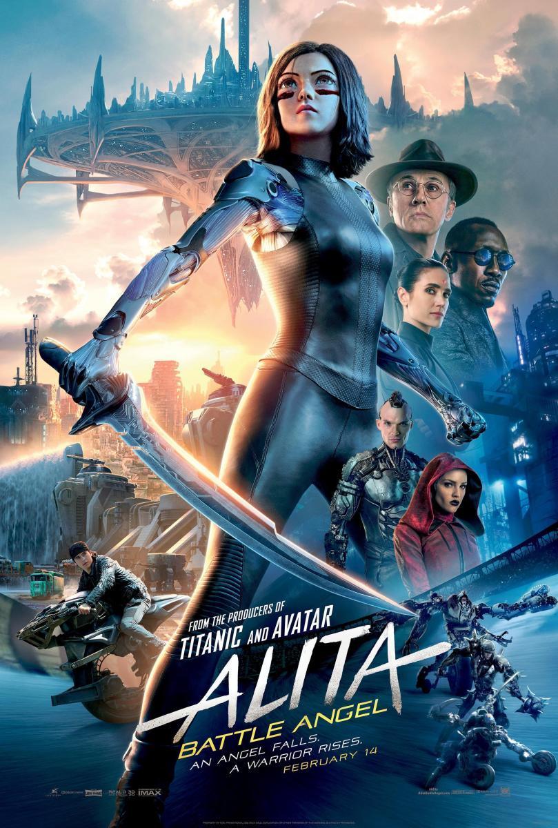 cartel de la película Alita: Ángel de combate