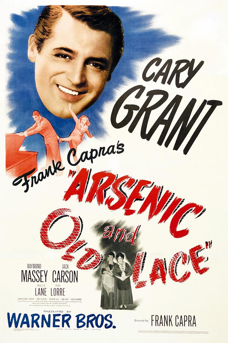 cartel de la película Arsénico por compasión