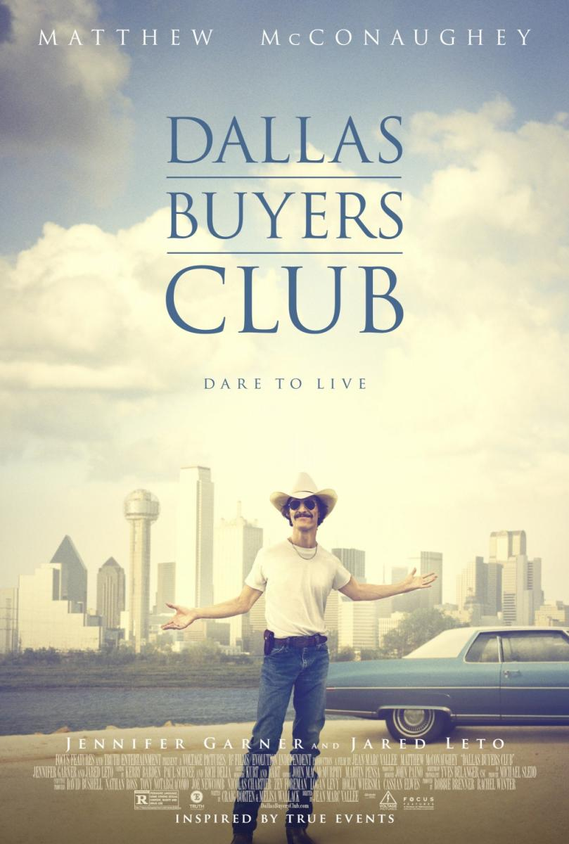 cartel de la película Dallas Buyers Club