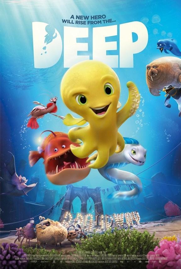 cartel de la película Deep