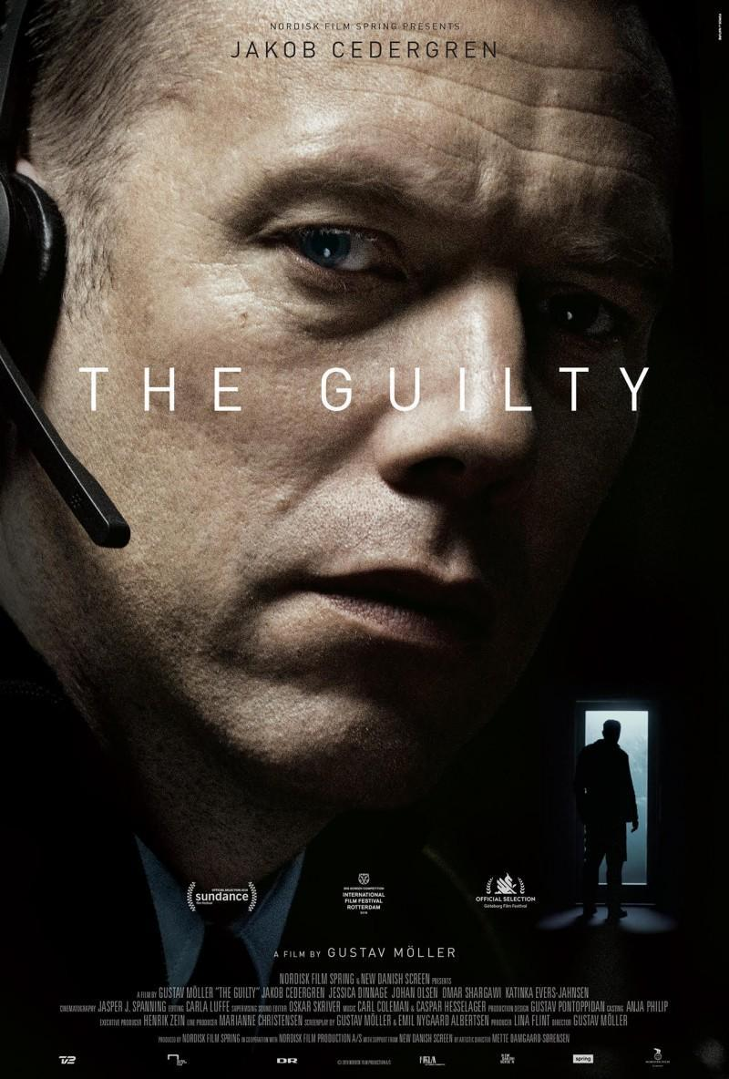 cartel de la película The guilty