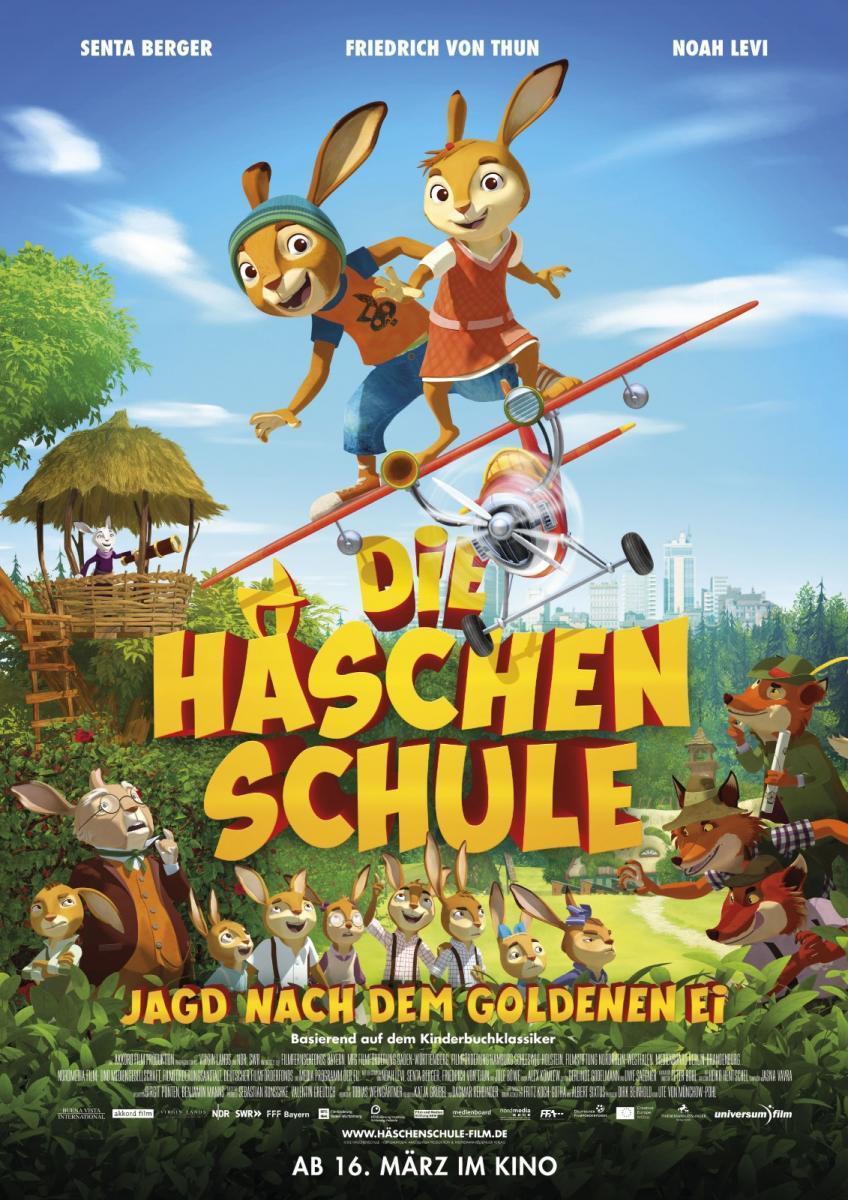 cartel de la película Rabbit school: Los guardianes del huevo de oro