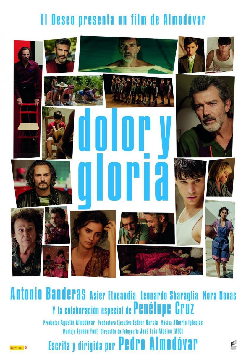 cartel de la película Dolor y gloria