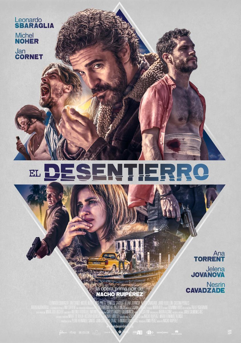 cartel de la película El desentierro