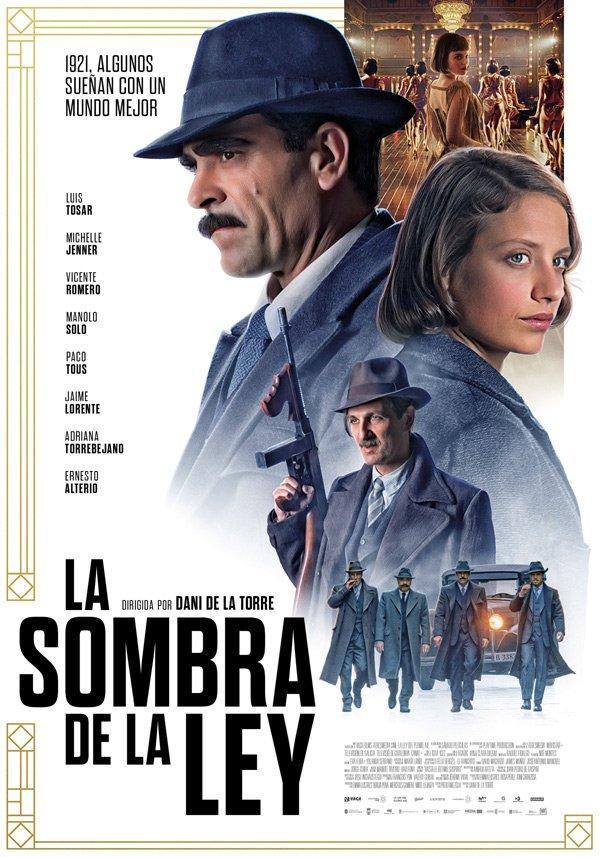 cartel de la película La sombra de la ley