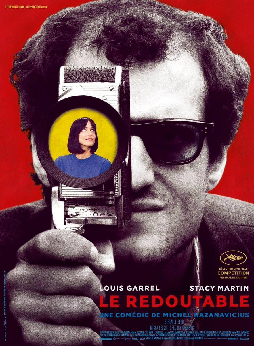 cartel de la película Le redoutable (Mal genio)