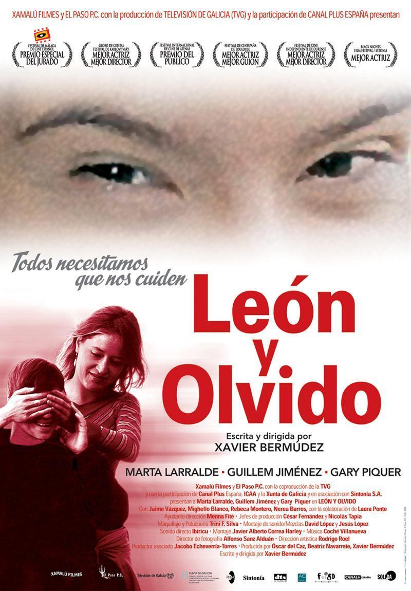 cartel de la película León y Olvido