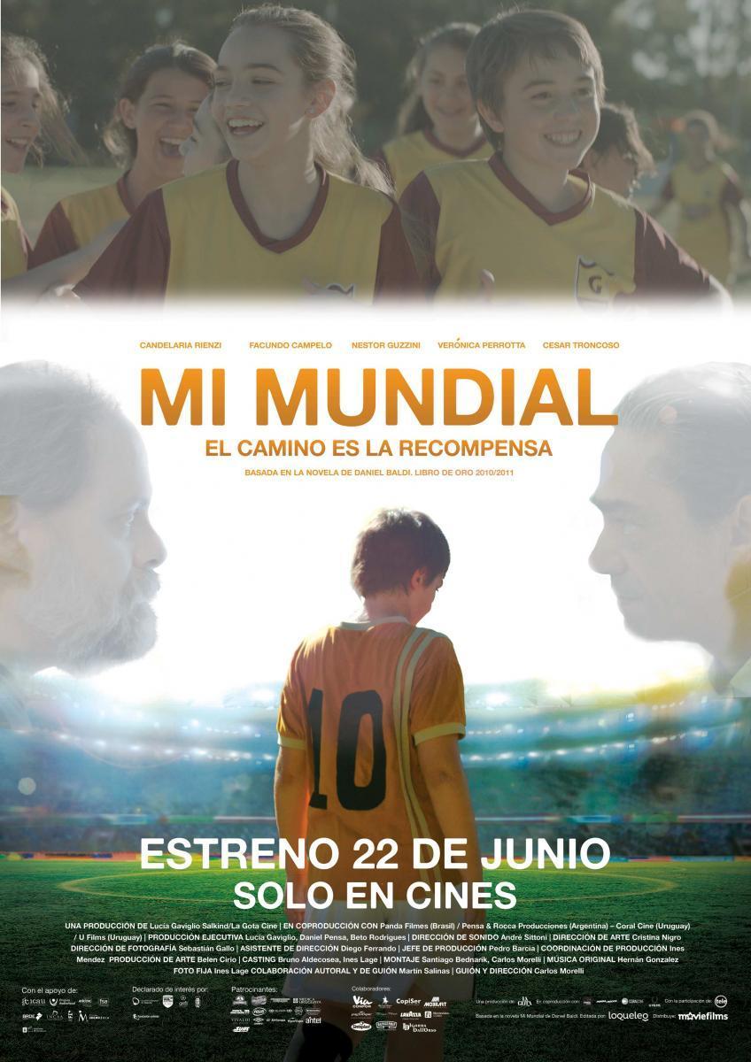 cartel de la película Mi mundial
