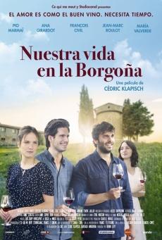 cartel de la película Nuestra vida en la Borgoña