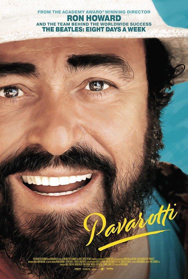 cartel de la película Pavarotti