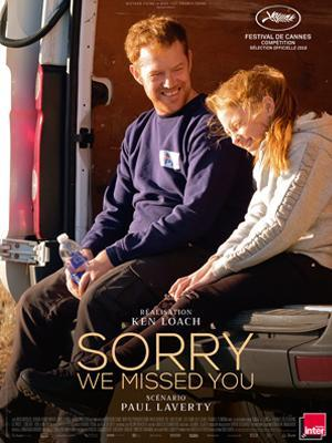 cartel de la película Sorry we missed you