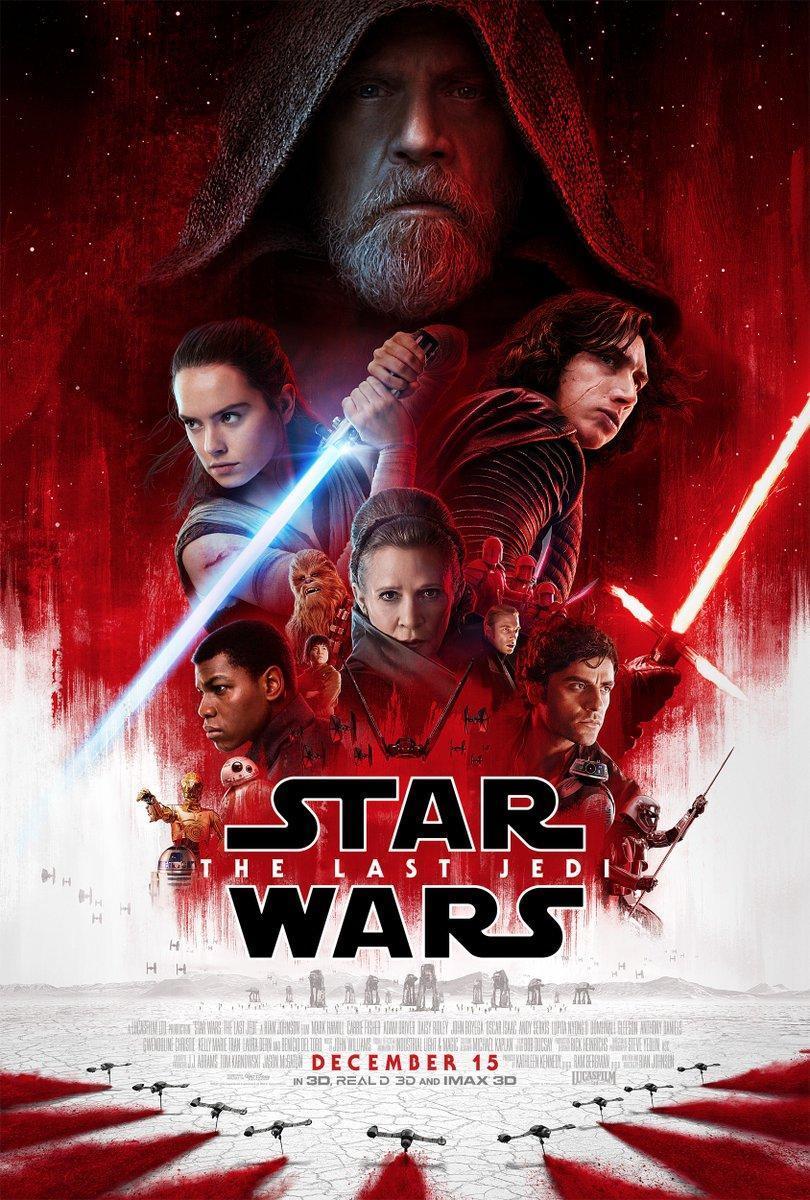 cartel de la película Star wars: Los últimos jedi