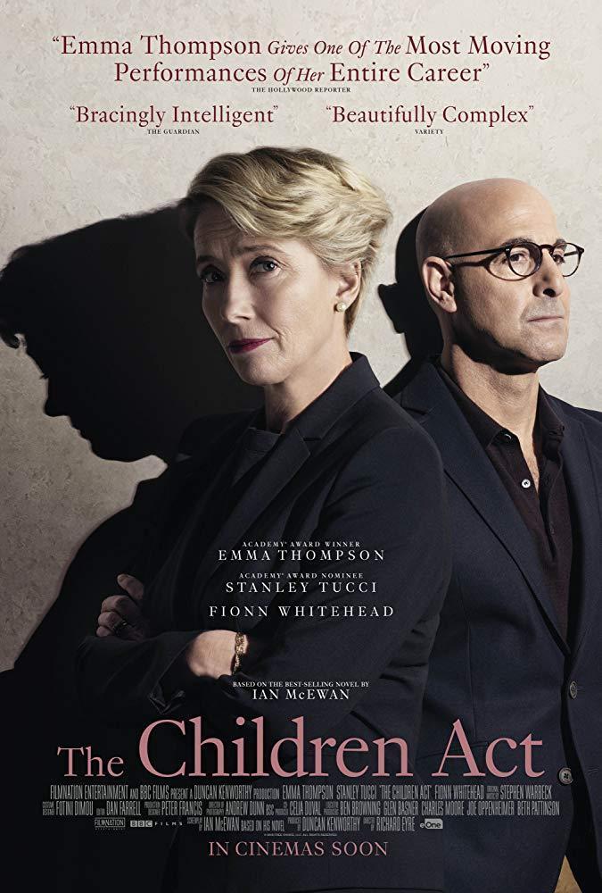 cartel de la película El veredicto (La ley del menor)