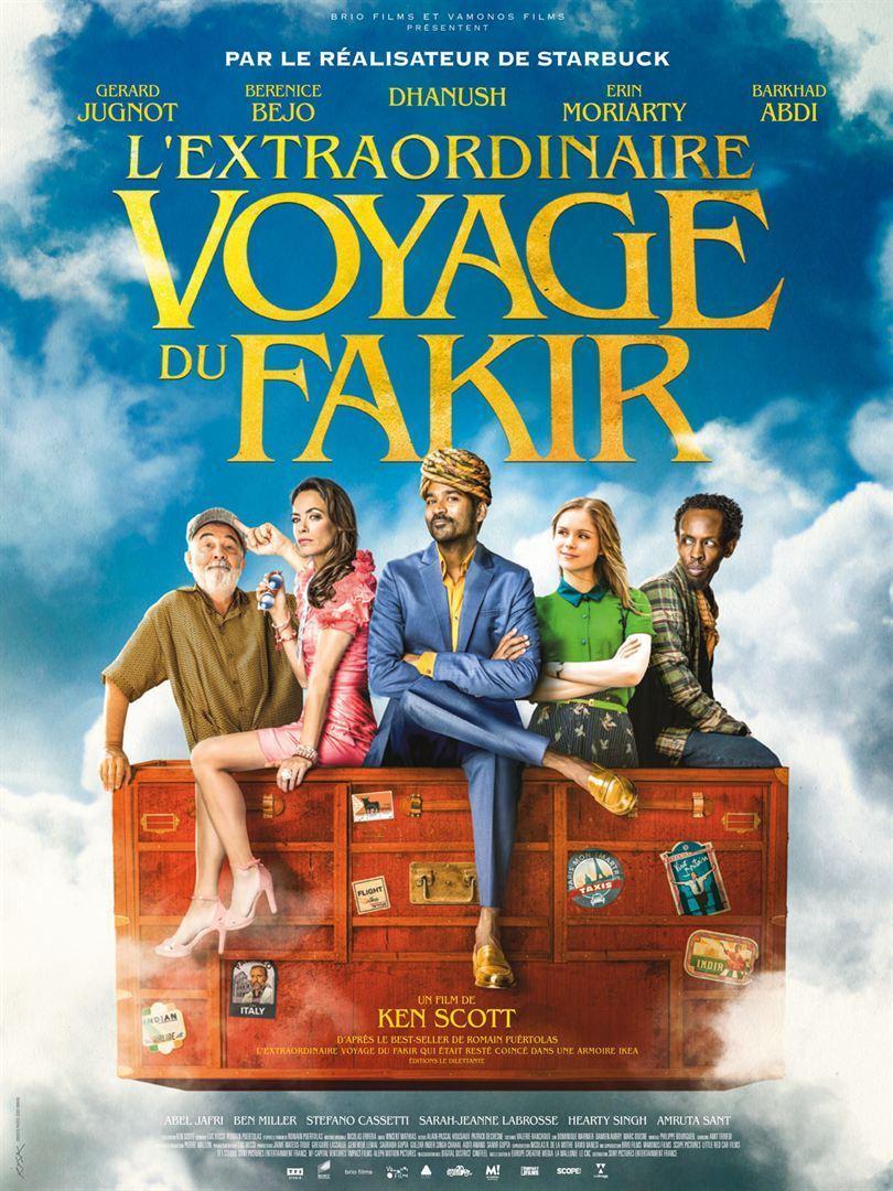 cartel de la película De la India a París en un armario de Ikea
