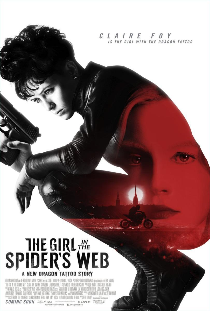 cartel de la película Millennium: Lo que no te mata te hace más fuerte