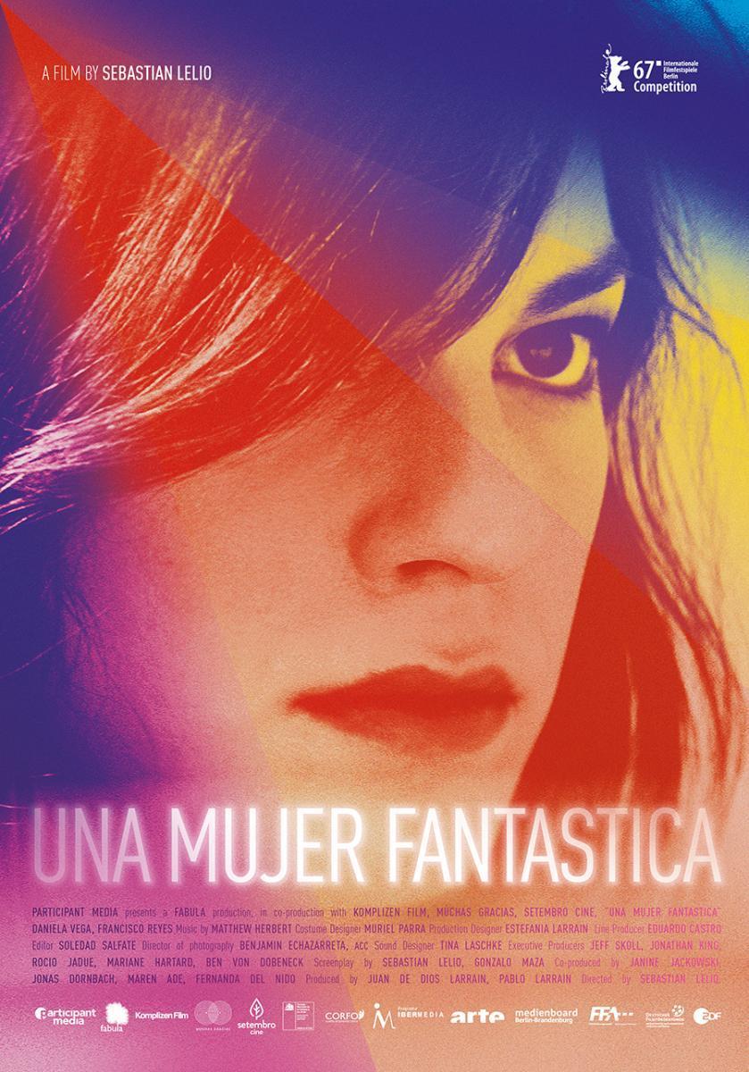 cartel de la película Una mujer fantástica