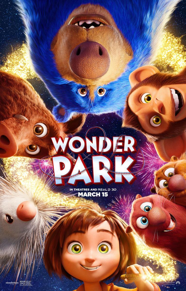 cartel de la película El parque mágico